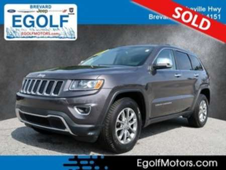 2015 Jeep Grand Cherokee Limited 4WD for Sale  - 21753A  - Egolf Motors
