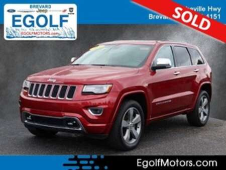 2014 Jeep Grand Cherokee Overland 4WD for Sale  - 82497  - Egolf Motors