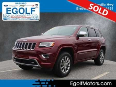 2016 Jeep Grand Cherokee Overland 4x4 4WD for Sale  - 5157A  - Egolf Motors