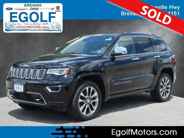 2018 Jeep Grand Cherokee  - Egolf Motors