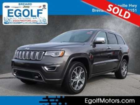 2019 Jeep Grand Cherokee Overland 4x4 for Sale  - 82379  - Egolf Motors