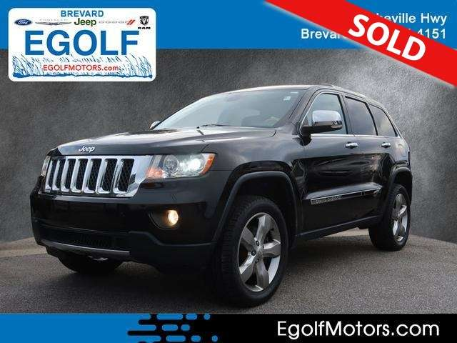 2012 Jeep Grand Cherokee Over
