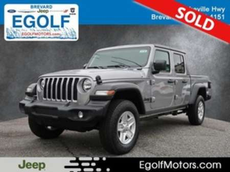 2020 Jeep Gladiator SPORT S 4X4 for Sale  - 21796  - Egolf Motors
