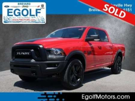 2019 Ram 1500 Classic Warlock 4x4 Crew Cab for Sale  - 82413  - Egolf Motors
