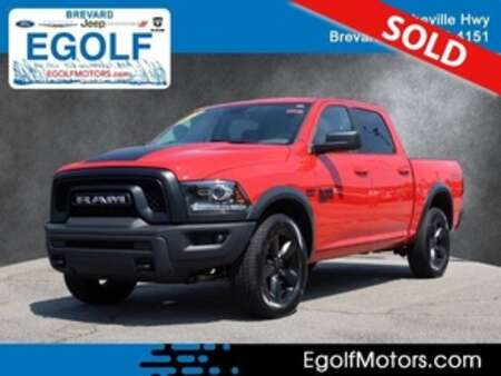 2019 Ram 1500 Classic Warlock Crew Cab for Sale  - 82421  - Egolf Motors