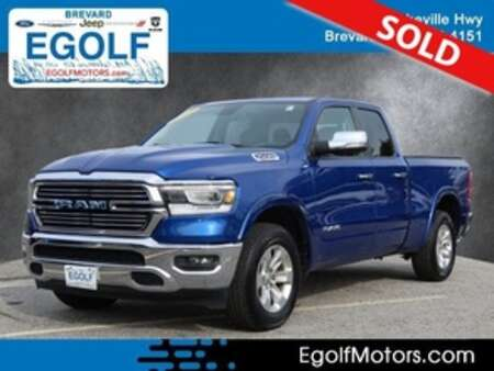 2019 Ram 1500 Laramie Quad Cab for Sale  - 82460A  - Egolf Motors