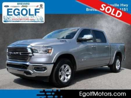2020 Ram 1500 Laramie Crew Cab for Sale  - 82405  - Egolf Motors