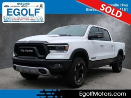 2020 Ram 1500 Rebel Crew Cab for Sale  - 82404  - Egolf Motors