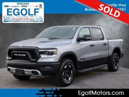 2021 Ram 1500 REBEL 4X4 CREW CAB 57  B for Sale  - 5290A  - Egolf Motors