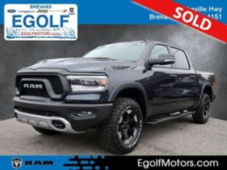 2020 Ram 1500 Rebel Crew Cab for Sale  - 21889  - Egolf Motors