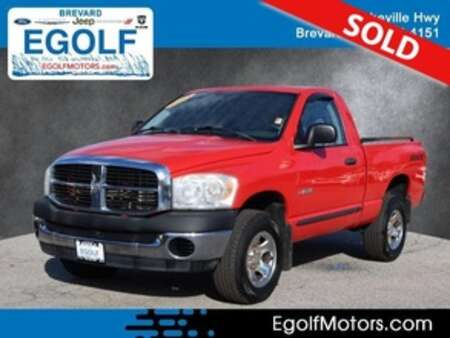 2008 Dodge Ram 1500 ST 4WD Regular Cab for Sale  - 82446A  - Egolf Motors