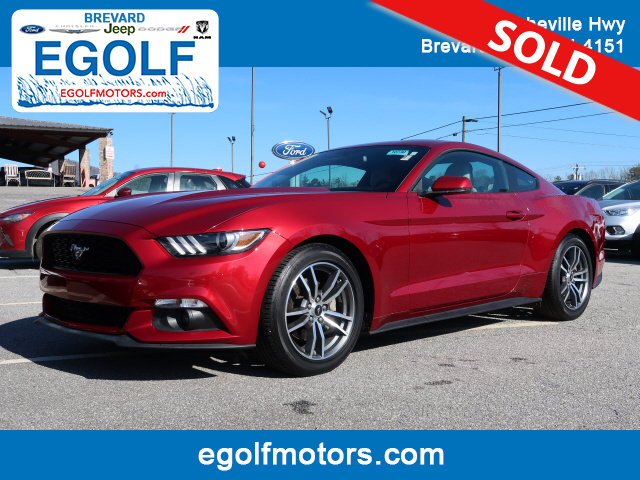 2015 Ford Mustang  - Egolf Motors