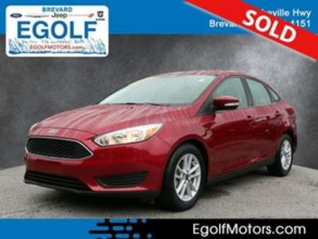 2017 Ford Focus SE for Sale  - 4996A  - Egolf Motors