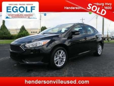 2017 Ford Focus SE ONE OWNER! for Sale  - 7504  - Egolf Motors