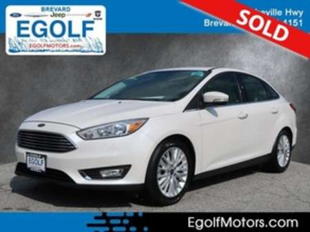 2018 Ford Focus Titanium for Sale  - 10865  - Egolf Motors