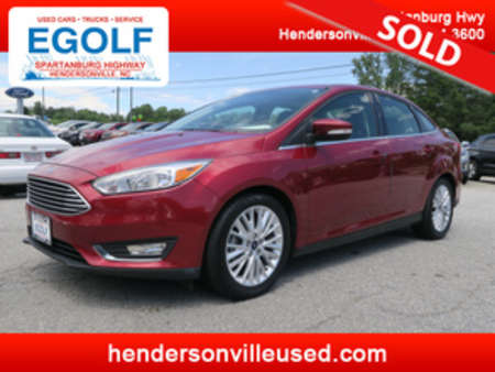 2017 Ford Focus Titanium for Sale  - 10638  - Egolf Motors