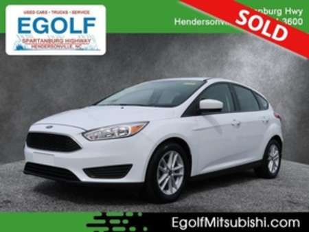 2018 Ford Focus SE for Sale  - 30094A  - Egolf Motors