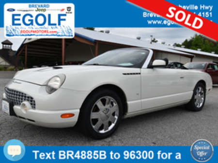 2003 Ford Thunderbird Base for Sale  - 4885B  - Egolf Motors