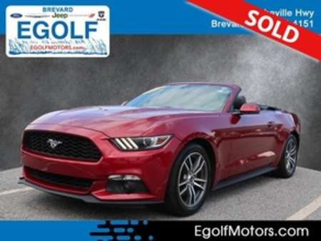 2016 Ford Mustang EcoBoost Premium for Sale  - 5130A  - Egolf Motors