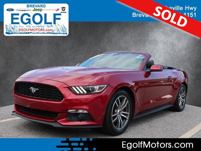 2016 Ford Mustang  - Egolf Motors