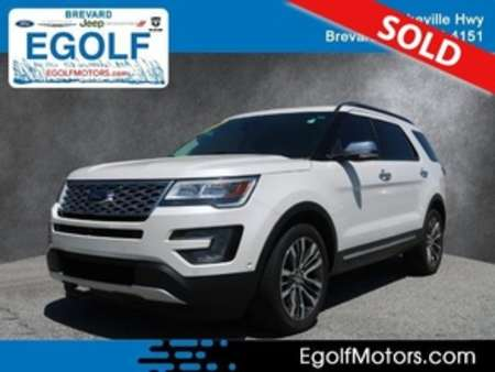 2016 Ford Explorer Platinum 4WD for Sale  - 5148A  - Egolf Motors