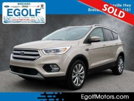 2018 Ford Escape Titanium for Sale  - 10948  - Egolf Motors