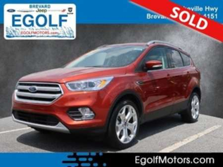 2019 Ford Escape Titanium 4WD for Sale  - 10971  - Egolf Motors