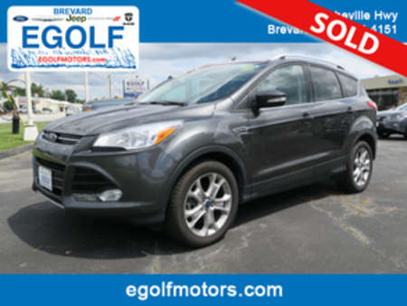 2016 Ford Escape Titanium 4X4 EcoBoost Leather for Sale  - 7498  - Egolf Motors