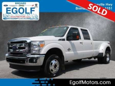 2015 Ford F-350 Lariat 4WD Crew Cab for Sale  - 10923A  - Egolf Motors