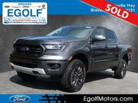 2019 Ford Ranger LARIAT 4WD SUPERCREW 5 B for Sale  - 5136  - Egolf Motors