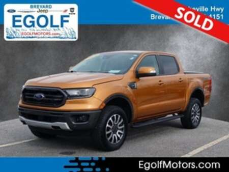 2019 Ford Ranger Lariat 4x4 4WD SuperCrew for Sale  - 10897  - Egolf Motors