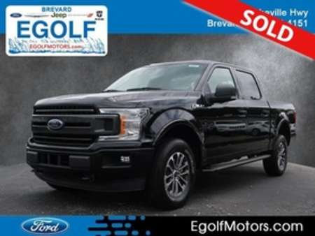 2019 Ford F-150 XLT 4WD SuperCrew 5.5 for Sale  - 5117  - Egolf Motors