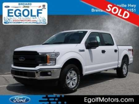 2019 Ford F-150 XL 4WD SuperCrew for Sale  - 5101  - Egolf Motors