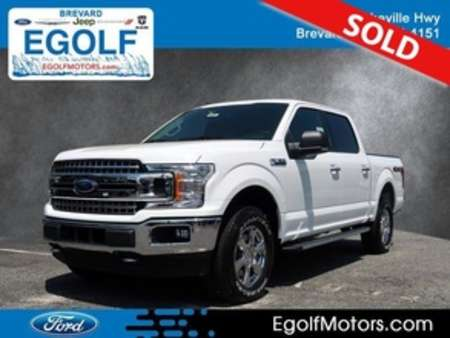 2019 Ford F-150 XLT 4WD SuperCrew for Sale  - 5105  - Egolf Motors