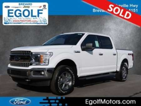 2019 Ford F-150 XLT 4WD SuperCrew for Sale  - 5075  - Egolf Motors