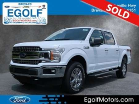 2019 Ford F-150 XLT 4WD SUPERCREW 5.5 BO for Sale  - 5122  - Egolf Motors