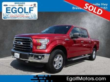 2016 Ford F-150 XLT 4WD SuperCrew for Sale  - 21762C  - Egolf Motors