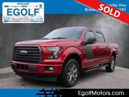2017 Ford F-150 XLT 4WD SuperCrew for Sale  - 21809A  - Egolf Motors