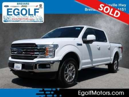 2020 Ford F-150 Lariat 4WD SuperCrew for Sale  - 10977  - Egolf Motors