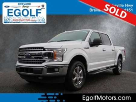 2018 Ford F-150 XLT 4WD SuperCrew for Sale  - 10927  - Egolf Motors