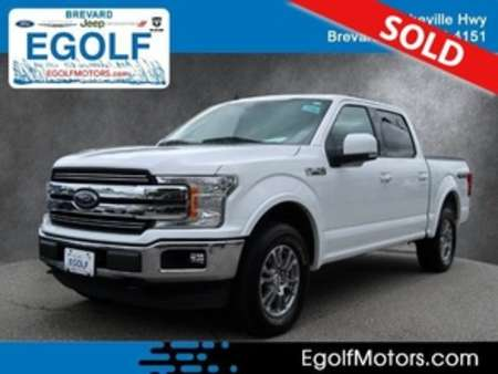 2020 Ford F-150 Lariat 4WD SuperCrew for Sale  - 10966  - Egolf Motors