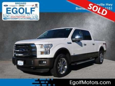 2016 Ford F-150 Lariat 4WD SuperCrew for Sale  - 10824  - Egolf Motors