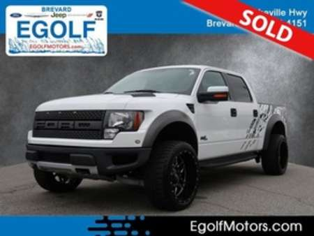 2011 Ford F-150 SVT Raptor 4WD SuperCrew for Sale  - 82346B  - Egolf Motors