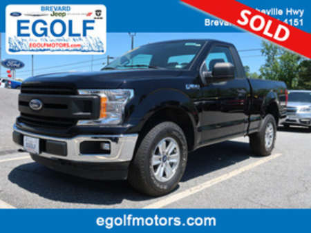 2018 Ford F-150 XL Reg 4x4 4WD Regular Cab for Sale  - 10954  - Egolf Motors