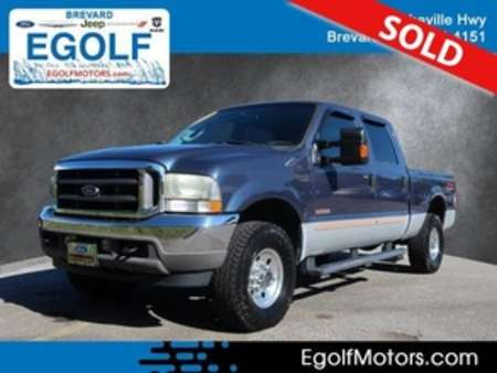 2004 Ford F-250 XLT 4WD Crew Cab for Sale  - 10807B  - Egolf Motors