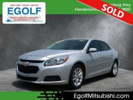 2015 Chevrolet Malibu LT for Sale  - 7689A  - Egolf Motors