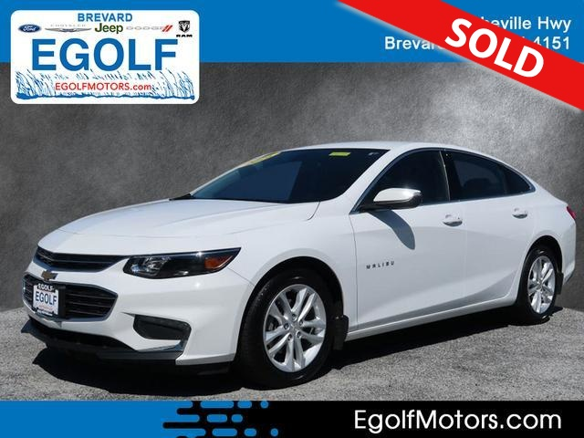 2016 Chevrolet Malibu  - Egolf Motors