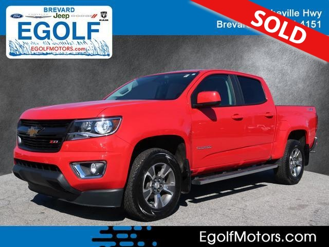 2016 Chevrolet Colorado  - Egolf Motors
