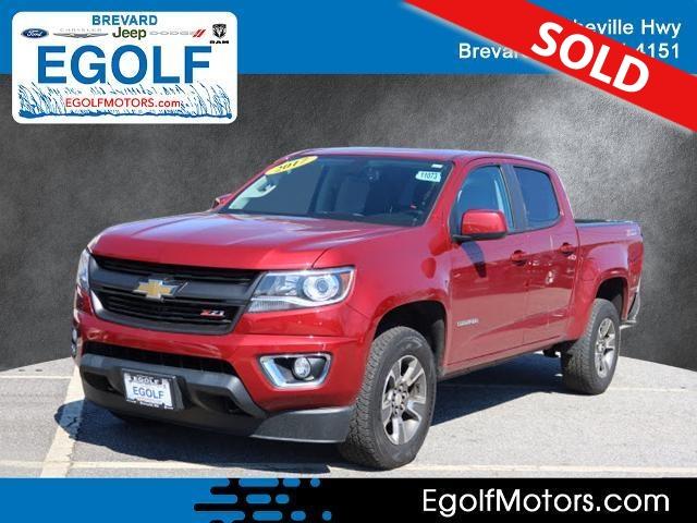2017 Chevrolet Colorado  - Egolf Motors