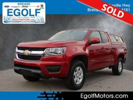 2016 Chevrolet Colorado Work Truck 4WD Extended Cab for Sale  - 21731A  - Egolf Motors